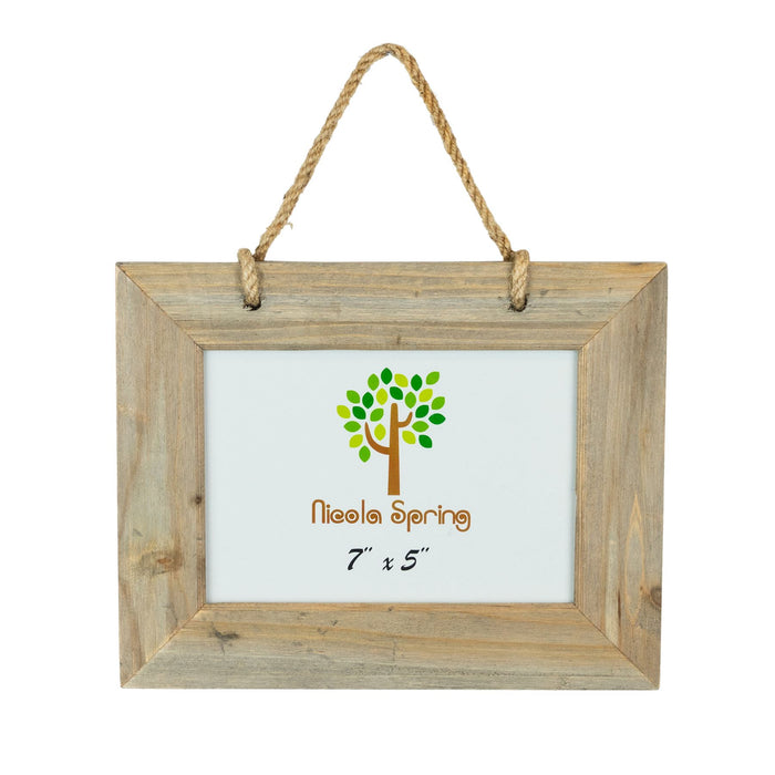 Nicola Spring Wooden Hanging Picture Frame - 7x5