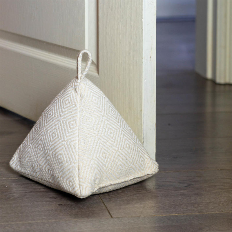Nicola Spring Decorative Door Stop Natural 20cm Interior Door Lifestyle
