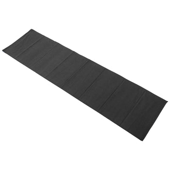 Nicola Spring Ribbed Cotton Dining Table Runner - 183cm - Black