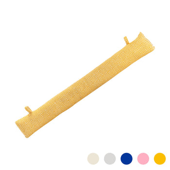 Nicola Spring Decorative Draught Excluder - Yellow - 80cm