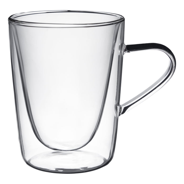 Rink Drink Double Walled Hot Drinks Glass - 285ml