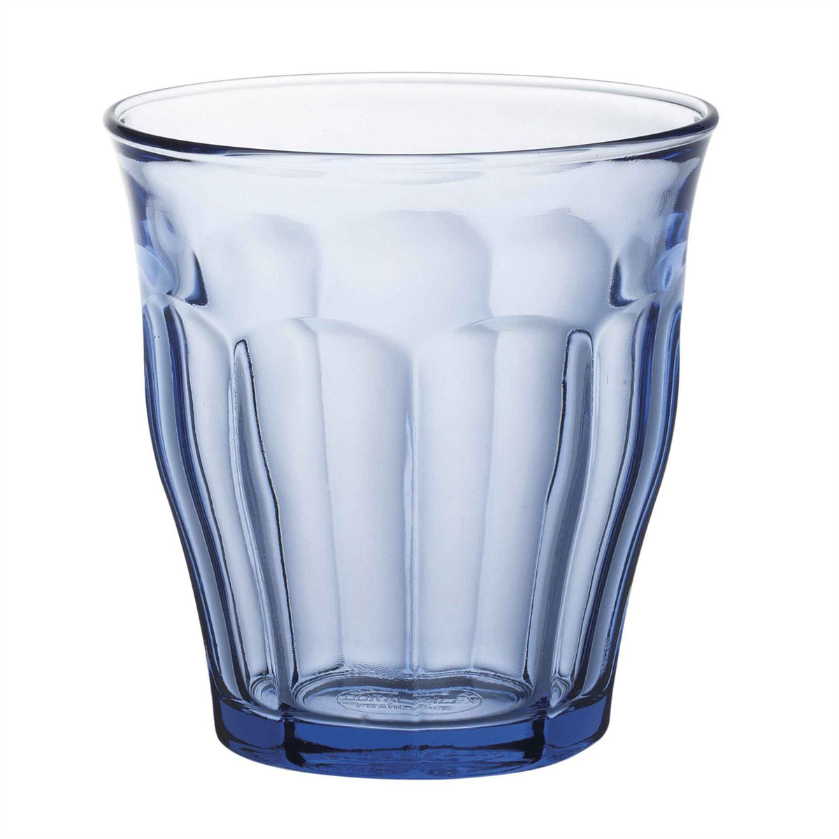 Duralex Picardie Traditional Glass Drinking Tumbler - Blue - 250ml