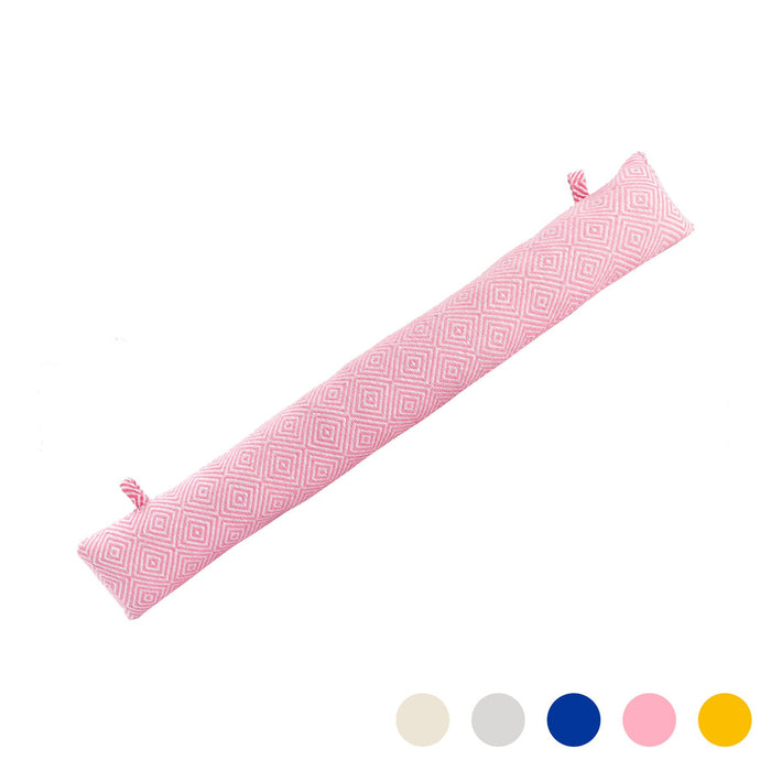 Nicola Spring Decorative Draught Excluder - Pink - 80cm