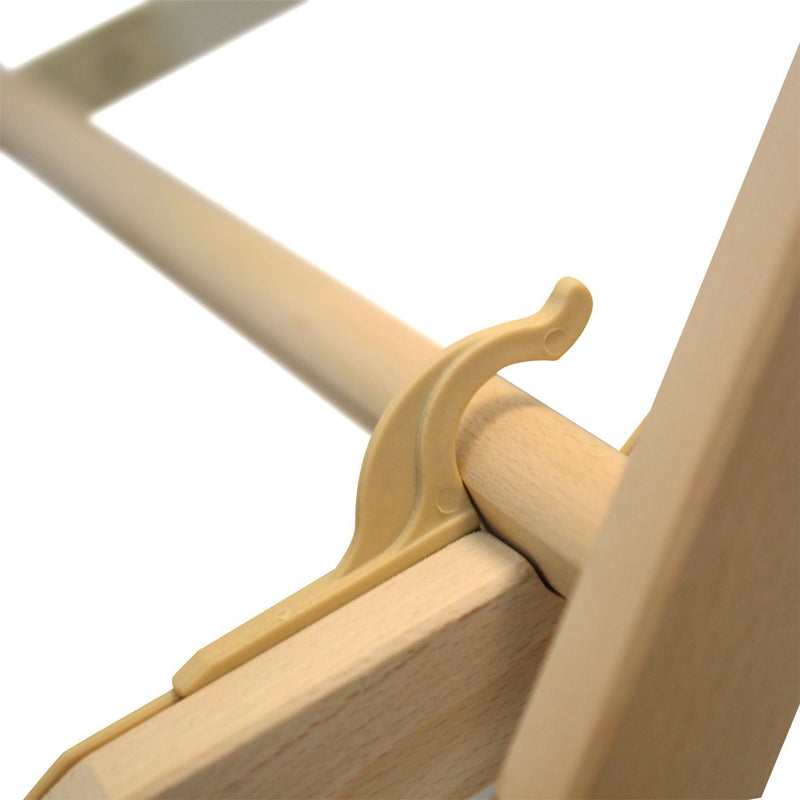 wooden deck chair adjustable detail