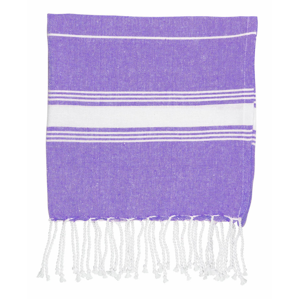 Nicola Spring Kids Turkish Beach Towel - Purple