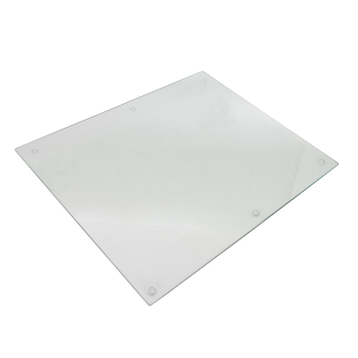 Harbour Housewares Glass Worktop Saver / Placemat - 50 x 40cm - Clear