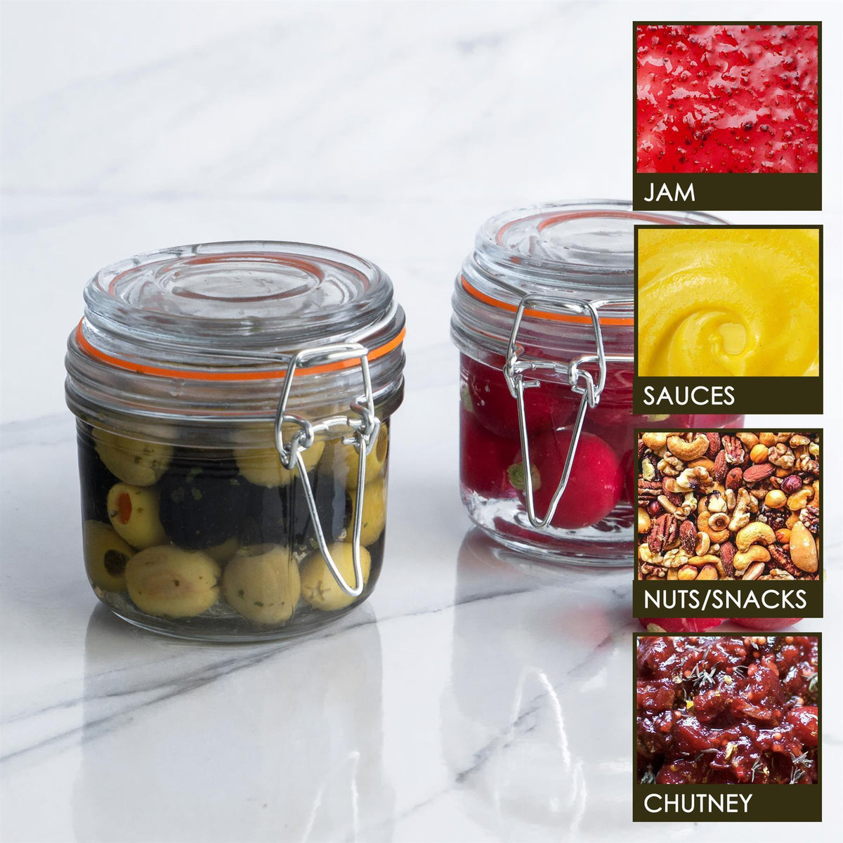 Argon Tableware Kitchen Storage Jars