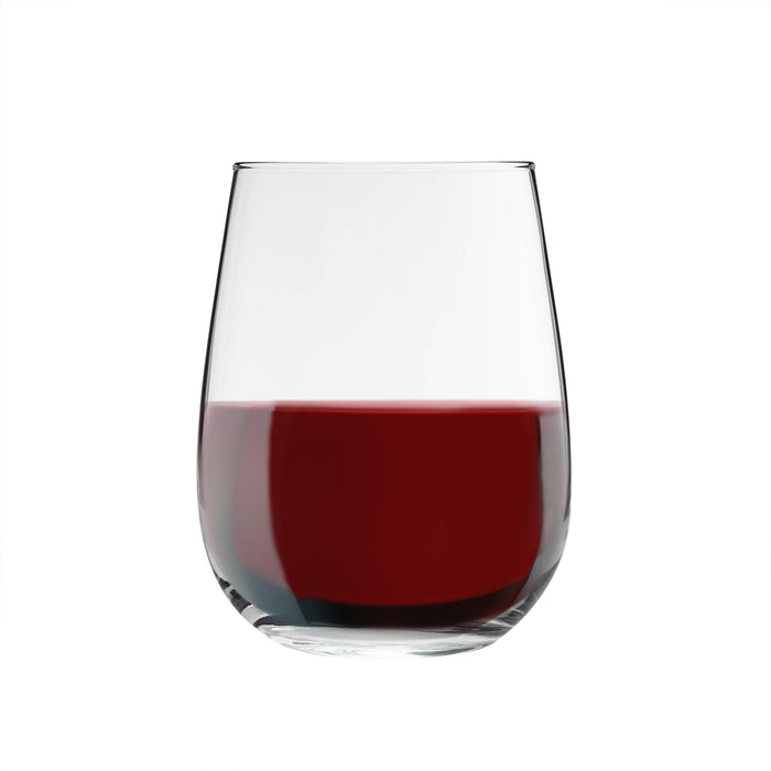 Argon Tableware 6pc Corto Stemless Wine Glasses Set - 475ml