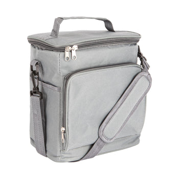 Nicola Spring Insulated Cooler Bag - Grey