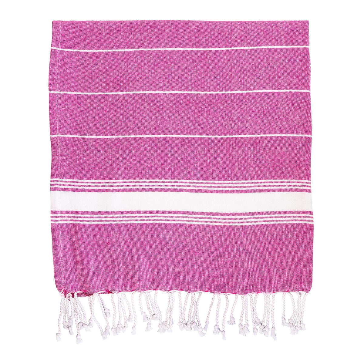 Nicola Spring Turkish Beach Towel - Pink