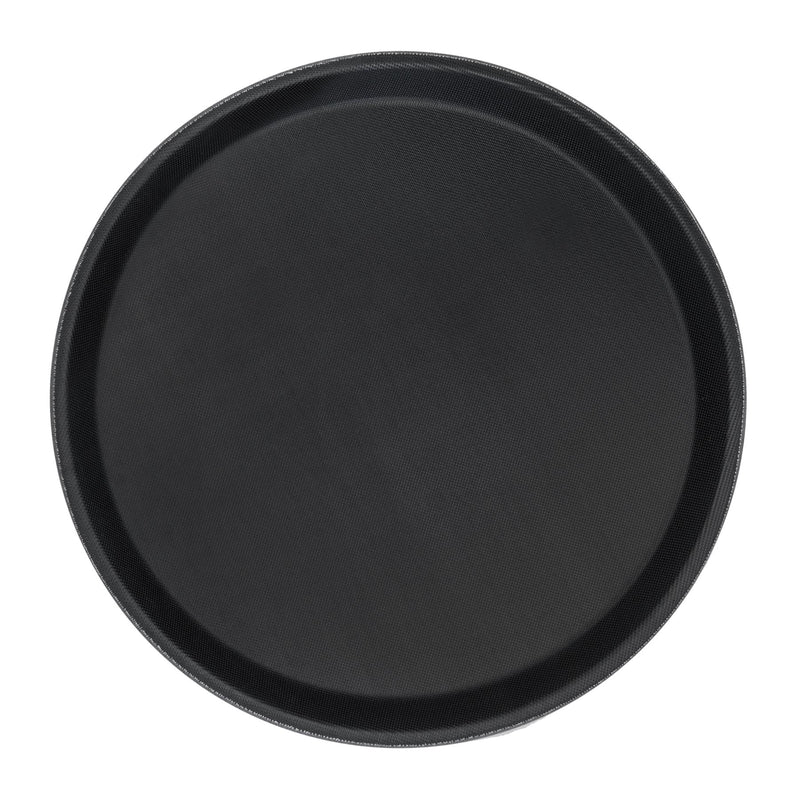 "Argon Tableware Circular Non-Slip Serving Tray - 28cm (11"")"