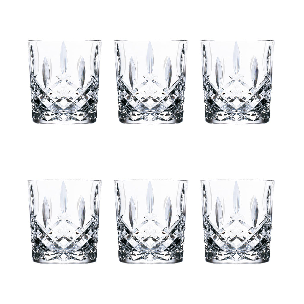 RCR Crystal Orchestra Cut Glass Double Old Fashioned Glass - 340ml