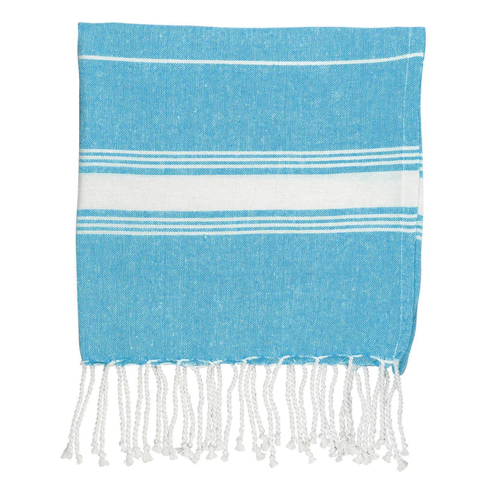 Nicola Spring 100 x 60cm Turkish Cotton Beach Towel - Blue