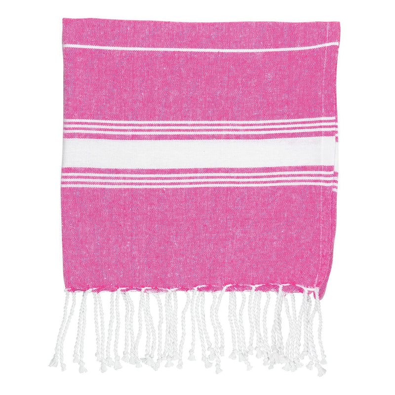 Nicola Spring Kids Turkish Beach Towel - Pink