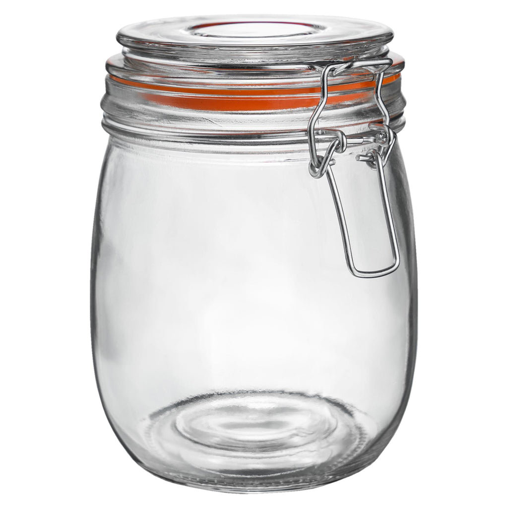 Argon Tableware Preserving / Biscuit Glass Storage Jar - 750ml Argon Tableware Preserve Jars