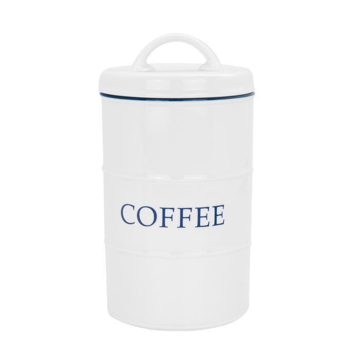 Nicola Spring Farmhouse Kitchen Coffee Canister - 11 x 20cm