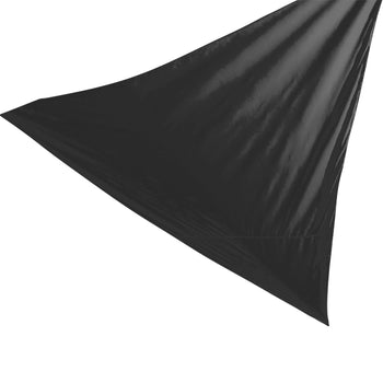 Harbour Housewares Shade Sail Canopy - Triangle Black