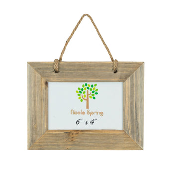 Nicola Spring Wooden Hanging Picture Frame - 6x4