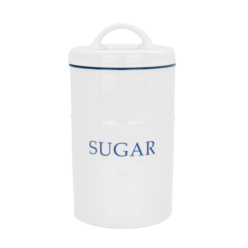 Nicola Spring Farmhouse Kitchen Sugar Canister - 11 x 20cm