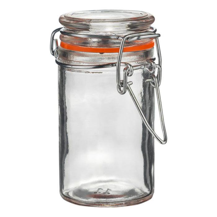 Argon Tableware Glass Kitchen Storage Jar with Lid - 70ml