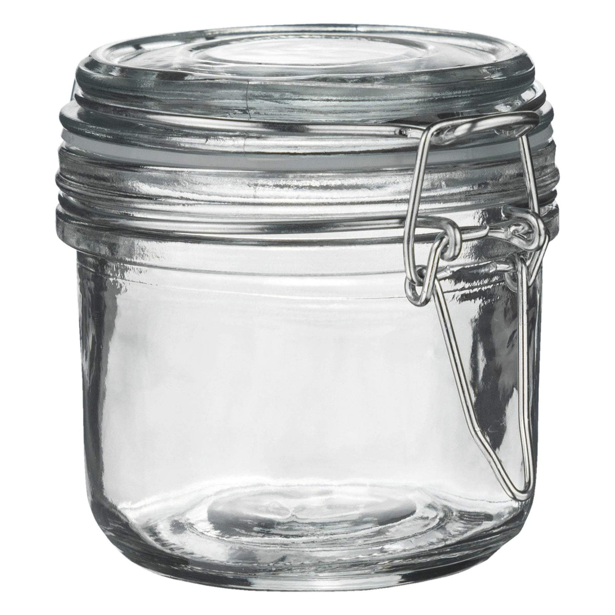 Argon Tableware Glass Storage Jar - 200ml - Clear Seal