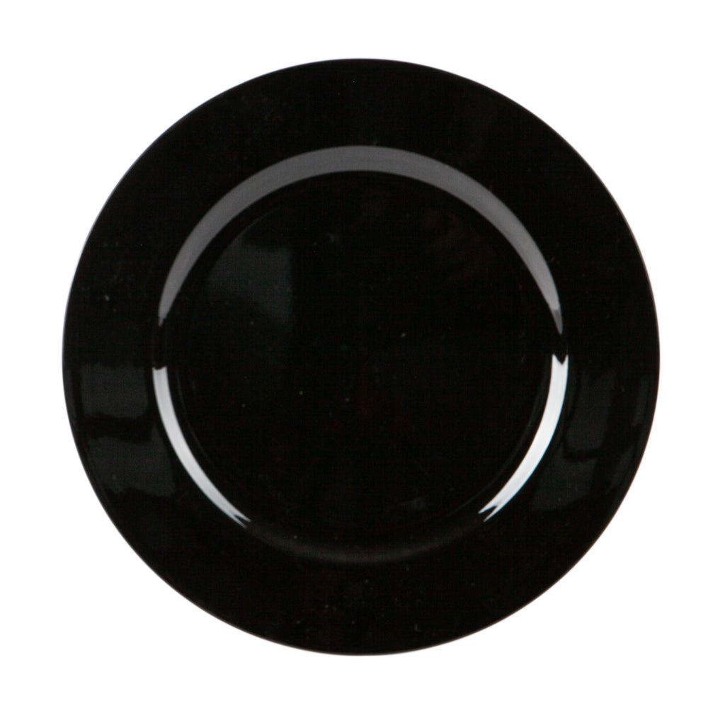 Argon Tableware Metallic Charger Plate - 33cm - Black