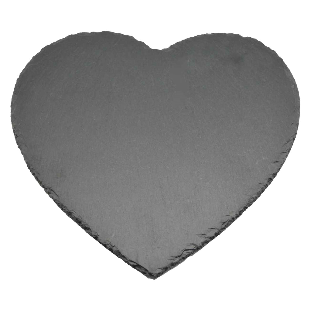 Argon Tableware Heart Shape Natural Slate Placemat
