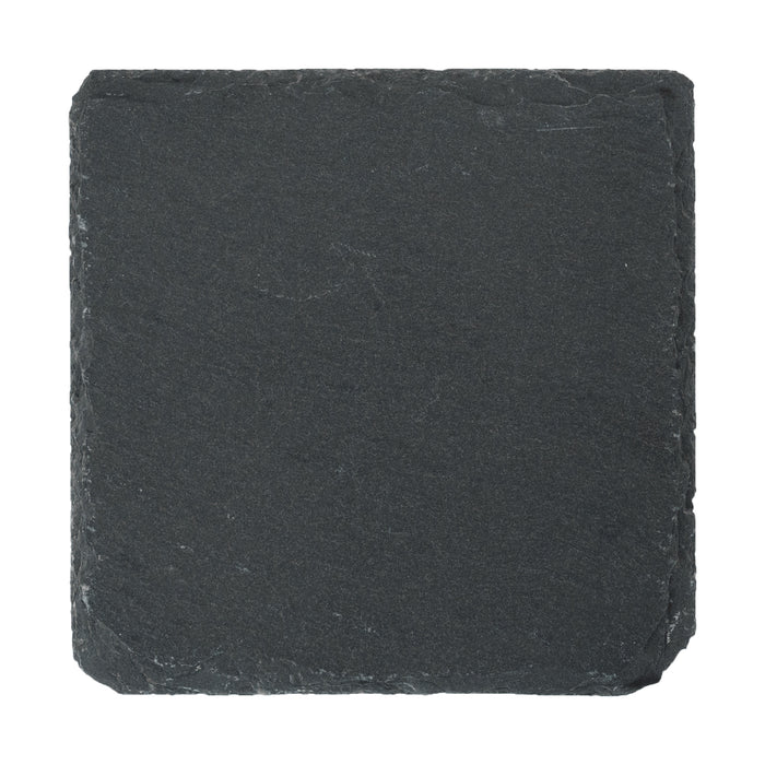 Argon Tableware Square Natural Slate Drinks Coaster