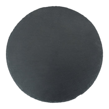 Argon Tableware Round Natural Slate Serving Placemat