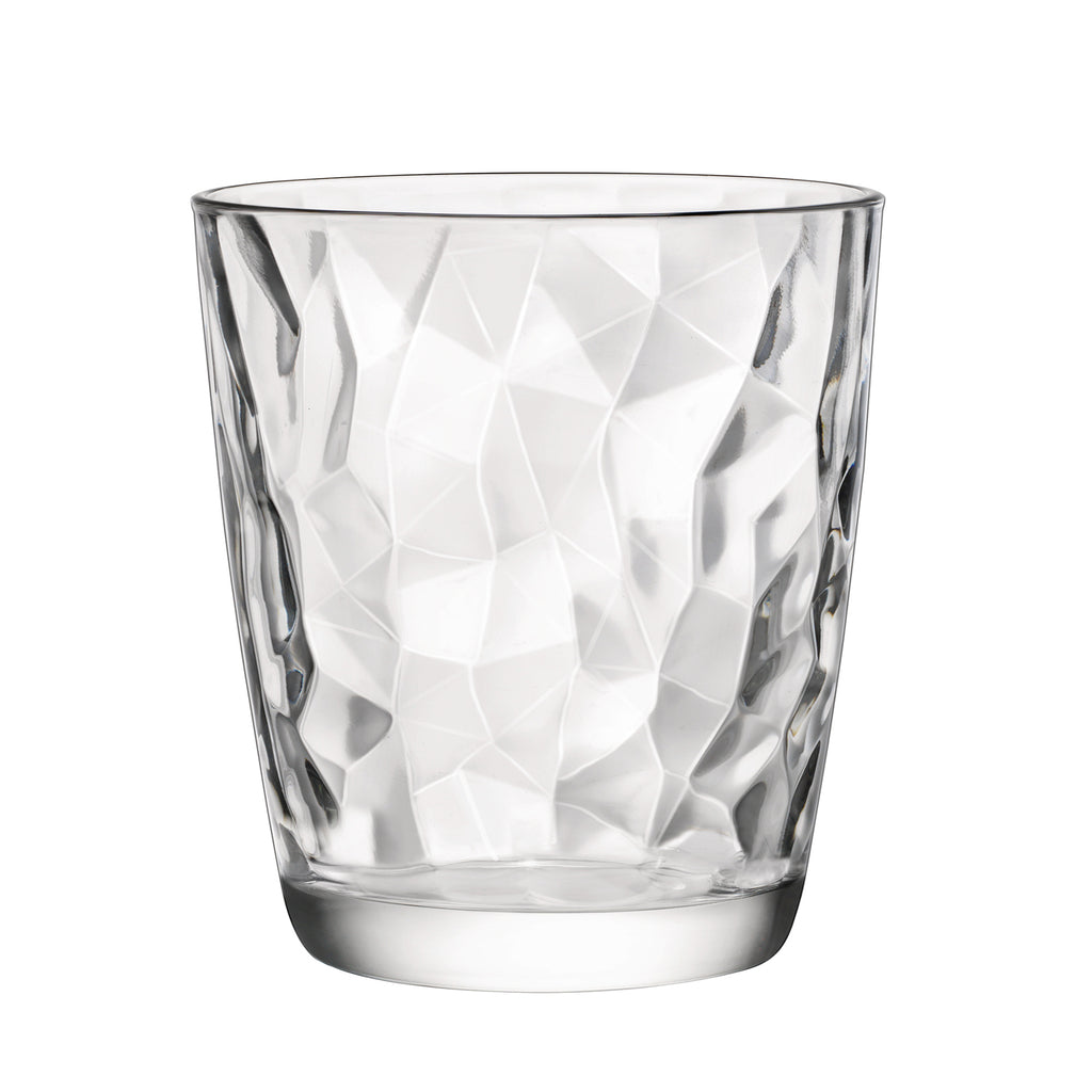 Bormioli Rocco Diamond Glass Whiskey Tumbler - 300ml