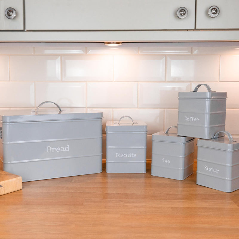 kitchen storage food canisters
