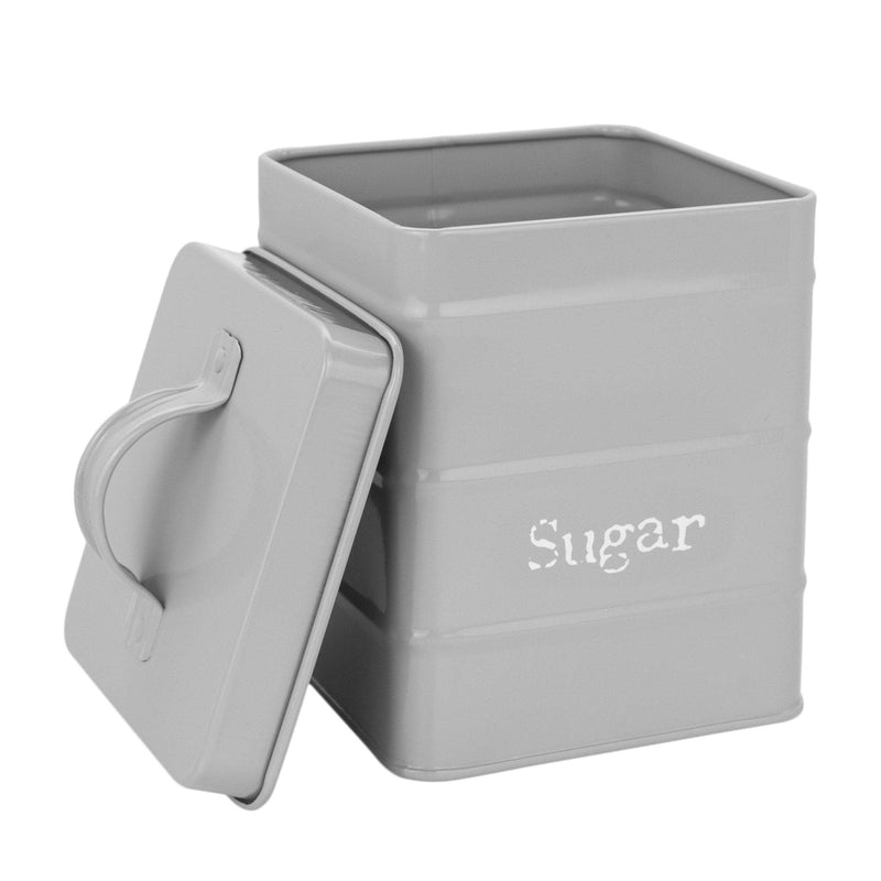 silver tea coffee sugar canisters