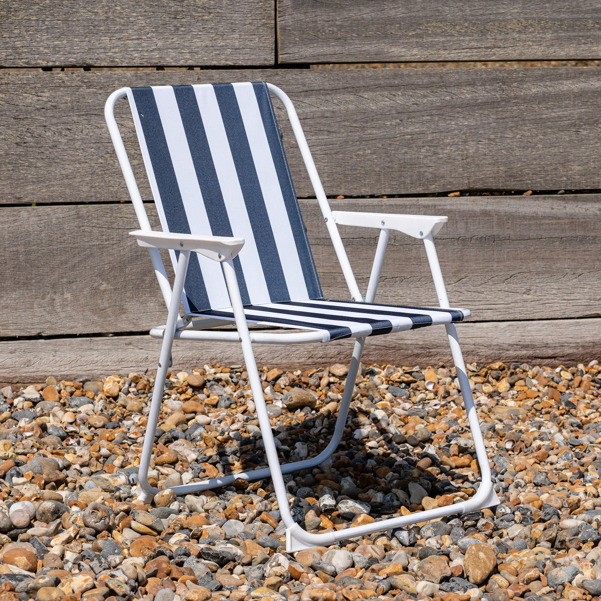 Harbour Housewares Metal Folding Chairs