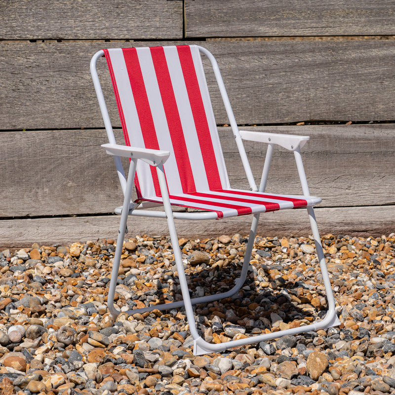 Harbour Housewares Metal Folding Beach Chairs