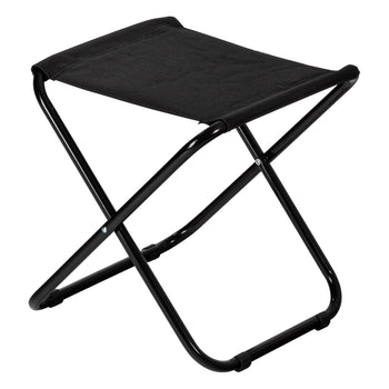 Harbour Housewares Classic Folding Stool - Black