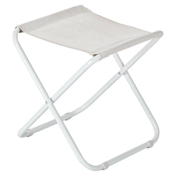 Harbour Housewares Classic Folding Stool - White