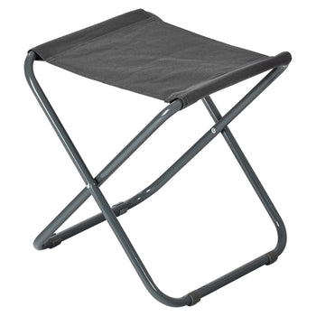 Harbour Housewares Classic Folding Stool - Grey