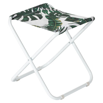 Harbour Housewares Classic Folding Stool - Banana Leaf