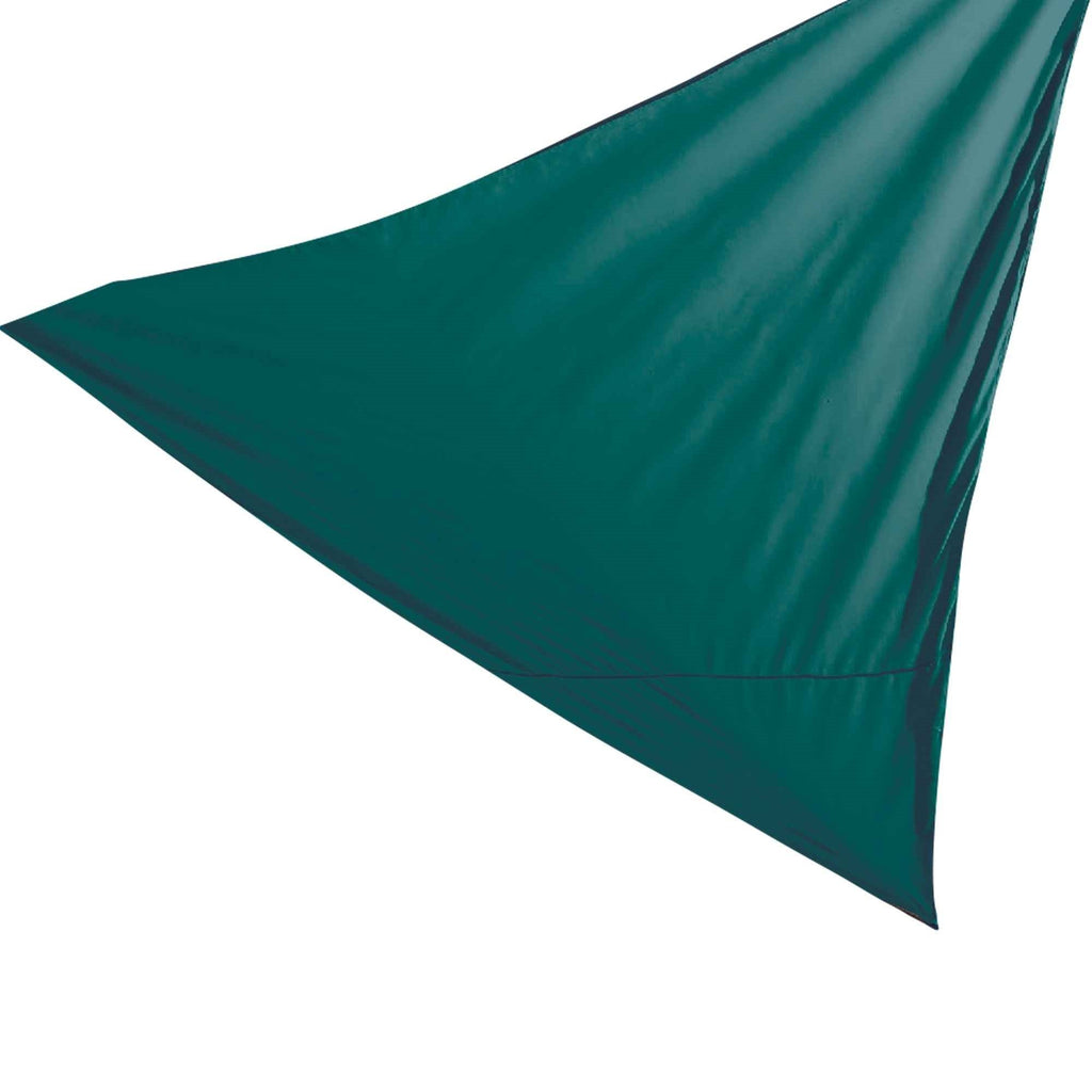 Harbour Housewares Shade Sail Canopy - Triangle Green