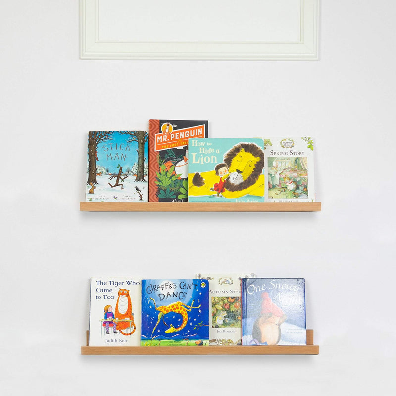 Harbour Housewares 56cm Kids Bedroom Gallery Bookshelf