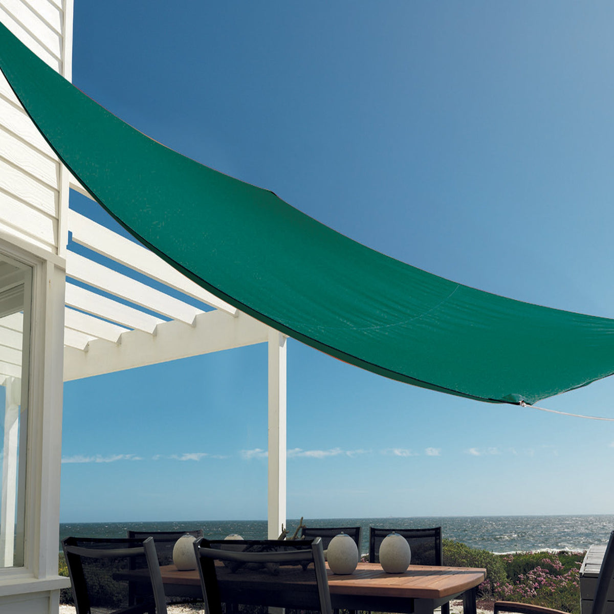 Harbour Housewares Shade Sail Canopy - Rectangle