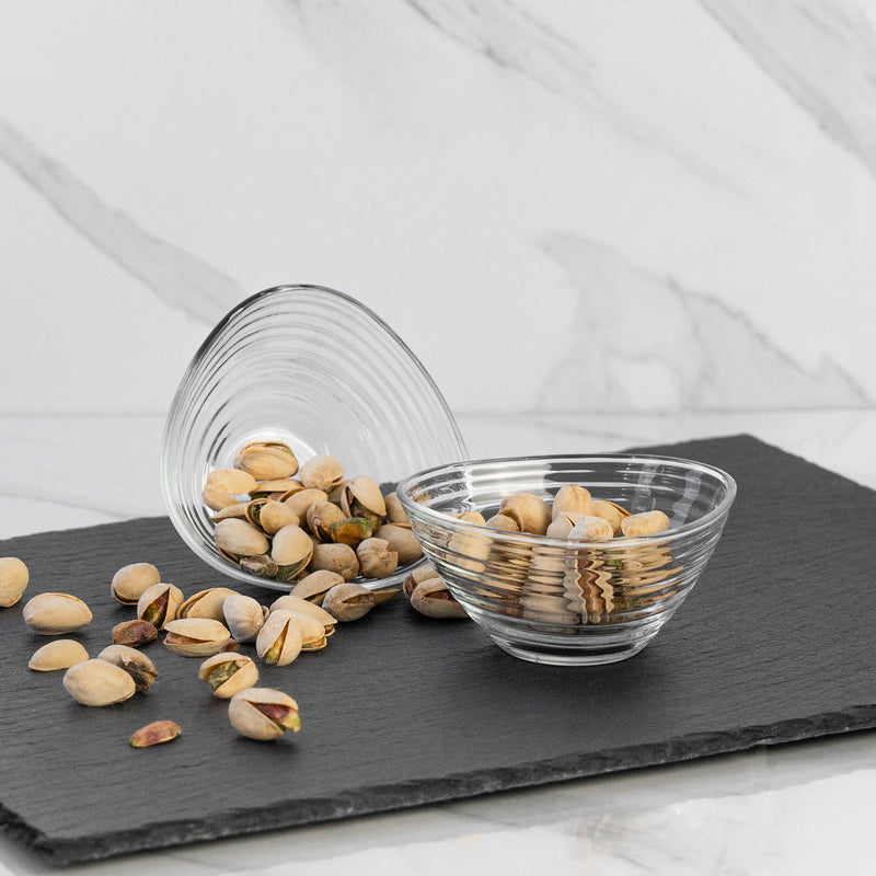 LAV Derin Medium Glass Snack / Serving Bowls - 200ml