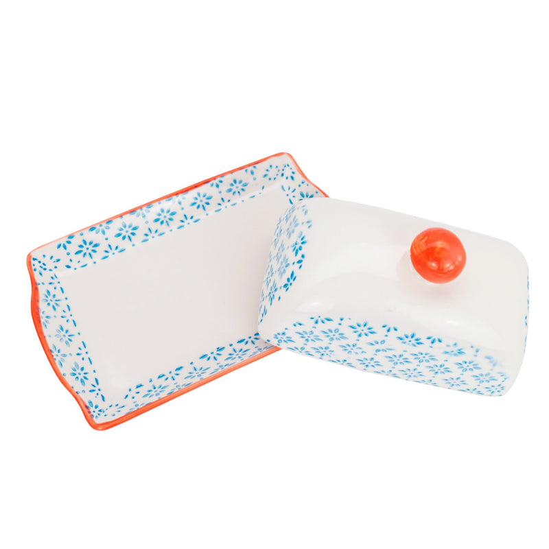 Nicola Spring china butter dish