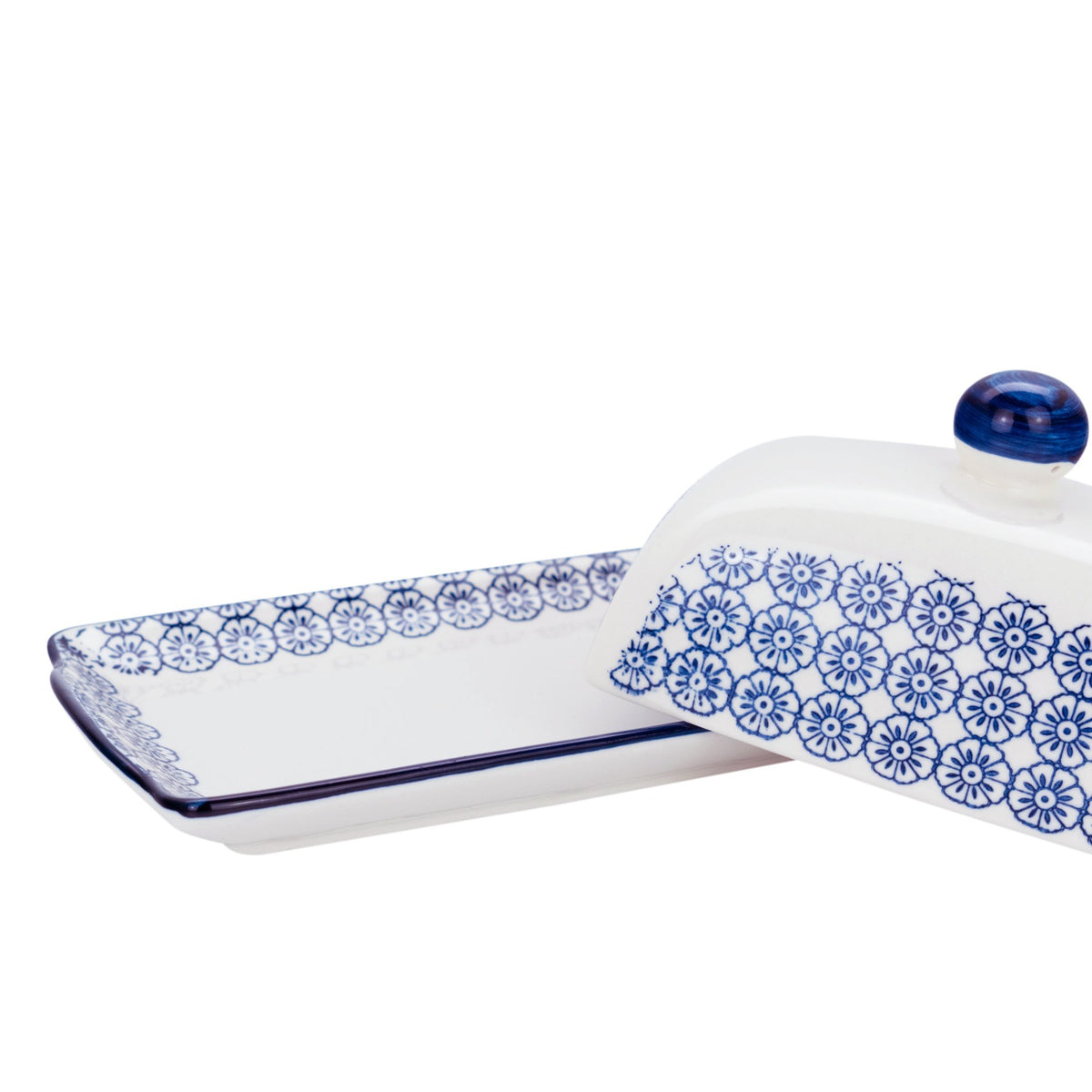 Nicola Spring butter dish with lid