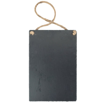 Nicola Spring Hanging Slate Notice and Menu Board