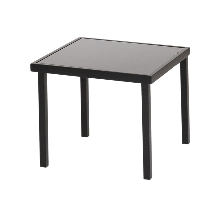 Harbour Housewares Sussex Garden Side Table - Black