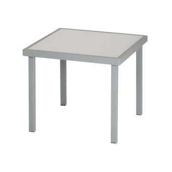 Harbour Housewares Sussex Garden Side Table - Grey