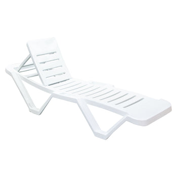 Resol Master Sun Lounger - White