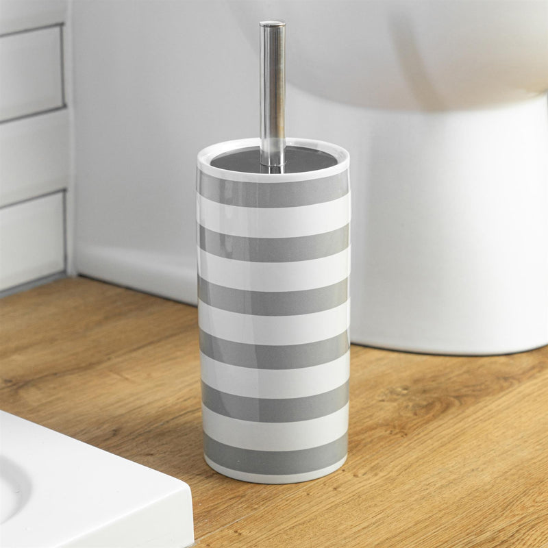 toilet brush and holder set