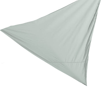 Harbour Housewares Shade Sail Canopy - Triangle Grey